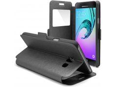 Coque Etui Samsung Galaxy A3 (2016) Slim Folio - Window View - Noir - 8,90 €