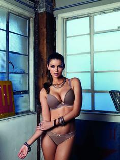 Nu verkrijgbaar, Freya Deco Vibe. Voorgevormde bh in mokka-kleur.  www.lingerie-athome.nl #mode #fashion #lingerie #bh #bra #Freya
