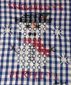 This kit contains the fabric, threads and needle as well as the pattern and instructions to complete. Frame not included. Colours may vary slightly. The purchaser can not reproduce the pattern but can sell any items they make Copyright Jayne McClenaghan 2017