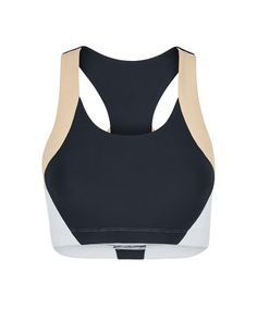 GABRIELLE - SPORTS BRA - NAVY/WHITE /NUDE