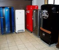 Image result for painted fridge freezer