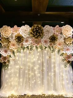 Start your own paper flower business using The Crafty Sagittarius Premium Paper flower templates Quince Decorations, Quinceanera Decorations, Indian Wedding Decorations, Birthday Decorations, Debut Decorations, Wedding Stage, Our Wedding, Dream Wedding, Wedding Reception