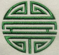 Longevity Embroidery Design | Apex Embroidery Designs, Monogram Fonts & Alphabets
