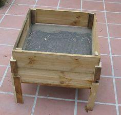 DIY wooden worm bin II by www.ecoyardfarmer.com, via Flickr
