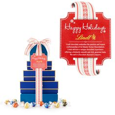 Innovations 5-Box Gift Tower - LINDOR Assorted #GiveLindt #Contest
