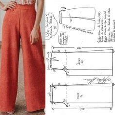Dress Sewing Patterns, Sewing Patterns Free, Clothing Patterns, Sewing Tutorials, Free Sewing, Pattern Sewing, Free Pattern, Shirt Patterns, Beginners Sewing