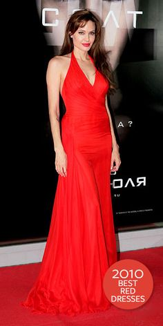 Look of the Day - December 25, 2010 - Angelina Jolie in Atelier Versace from #InStyle