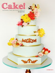 Cake! magazine by the Australian Cake Decorating Network Autumn 2014