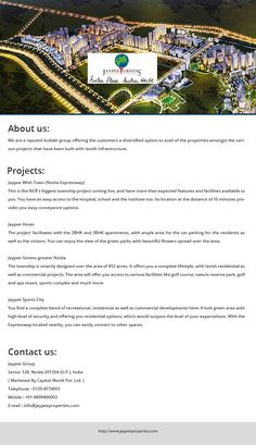 Want to buy plots around Noida expressway? Buy Jaypee plots in Noida expressway, we are the biggest township with world-class facilities available in all the flats and villas. The residence also having a gym, recreation centre, shopping, sports, spa and health facilities. The security is outstanding with elegant interiors and much more. For Plans and pricing contact us now.