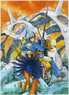SHUYA TAKAOKA from Tumbler. | brianmichaelbendis: Nausicaä of the Valley of...
