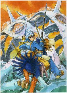 Nausicaa of the Valeey of the Wind by Hayao Miyazaki