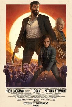 Creatives Respond To The Official Illustrated Poster For Upcoming Film 'Logan' - DesignTAXI.com