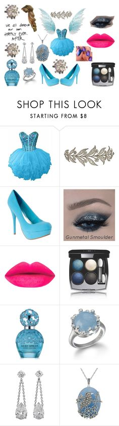 """""""Happily ever after"""" by ugly-boi ❤ liked on Polyvore featuring Chanel, Marc Jacobs, Genevieve & Grace and Haze"""