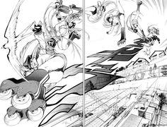 Air Gear, chp 1 pg 33.