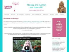Latest Web Site Build – Be Me Life Coaching Testimonial