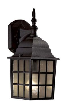 "One Light Outdoor Fixture 45.00  14""H Cardello"