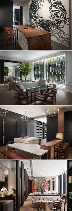 """Andaz 5th Avenue Restaurant - """"the shop"""" by Tony Chi."""