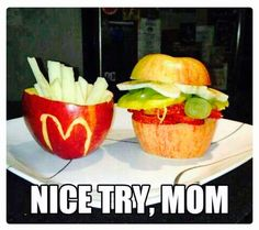 I know! It looks way too tasty and natural to be McDonald's!