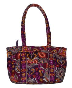 Vera Bradley Metropolitan Specialty Shoulder Bag In Safari Sunset 16
