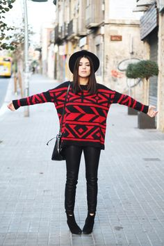 Dulceida: Red Sweater