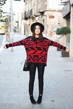 Dulceida: Red Sweater