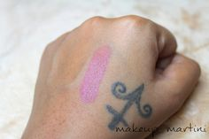 MAC Brave Lipstick Swatch