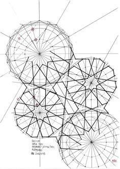 Bou120 #islamicdesign #islamicpattern #islamicart #arabiangeometry #star #pattern #mathart #regolo54 #structure #geometry #circle #disk