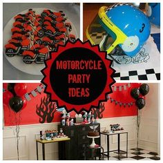 Kickstart your motorcycle party with these 13 awesome ideas!