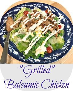 This recipe is so easy that almost doesn't warrant an actual recipe, but it's so good that I have to share it with you! Grilled chicken is one of my favorite things to order at restaura…