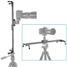 Neewer® Pro(Pro Version of Neewer® Product) 40''/1M Video Slider Stabilizer Linear Stabilization Rail System with 5KG/176 Ounce Load Capacity, Includes Carrying Case Perfect for Photography and Video