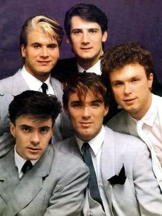 Spandau Ballet are a British band formed in London in the late 1970s. They were initially inspired by, and an integral part of, the New Romantic movement, becoming one of the most successful groups to emerge during the New Romantic era. WikipediaPicture of Spandau Ballet — 1983