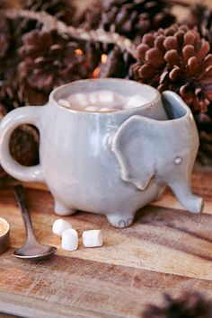 Tasse à thé éléphant