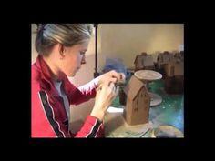 Kastelkeramikhaus- Herstellung