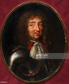 Louis XIV, King of France (1638-1715), 1680s. Private Collection. Artist : Bernard, Samuel (1615-1687).