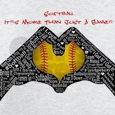 softball its more than just a game light t shirt - Softball Jersey Design Ideas