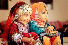 "Oman | ""Little princesses"" | via AbayaTrade, via Flickr"