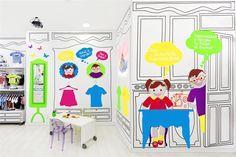 Piccino store Kids clothes from Italian brands in Valencia Valencia / Spagna / 2012 - Masquespacio