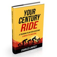 Freelance Project - Fun, creative book cover about century ride training for road cyclists. by Deja vvu