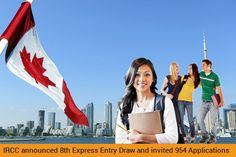 IRCC announced 8th Express Entry Draw