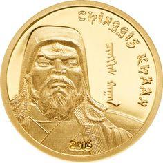 1.000 Tögrög Gold Chinggis Khaan PP