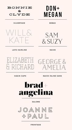 You guys all know how much we adore good design and swoon over pretty paper goods, yes? Well, a lot of the very best wedding stationery we've seen all starts with an awesome font. So with that in mind