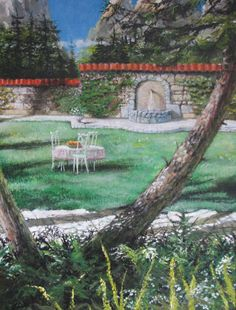 eastern european scenery by ~pavalo on deviantART. Commisioned by a private collector.