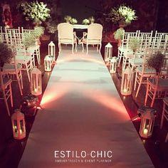 bodas, casamientos y ceremonias con mucho CHIC!