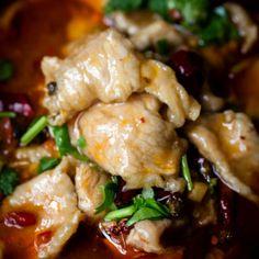 Shui Zhu Pork- Szechuan Pork in Chili Broth