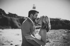 Elopement Photography. Lighthouse Wedding.
