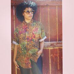 Vintage Men's Ethnic Print Button up, L, $7.50, Free shipping in US @shoprymingtahn   Click on the eBay link in my bio or visit stores.ebay.com/ShopRymingtahn  #ootd #outfits #ootdinspo #fashion #instafashion #edgyfashion #vintagetops #mensfashion #vintagefashion #retrotops #shirtdress #dopestyle #streetstyle #ethnicfashion #Menstops #curlyhair #naturalhair #curlygirl #oversizedtops #naturalcurls #braidout #browngirl #dyedhair #curlyfro #teamnatural #blackhair #fibromyalgia #armyvet