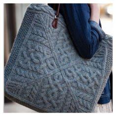 Mooie tas, ooit eens maken.