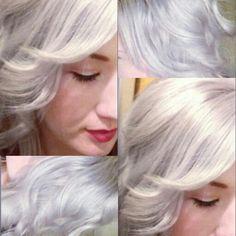 Silver hair!!