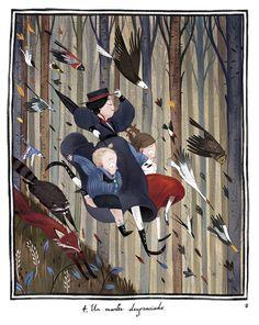 Mary Poppins, Ilustraciones Júlia Sardà