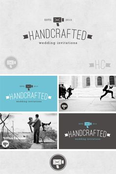 Top 9 July 2013: logo for Handcrafted Wedding Invitations by JanaKah